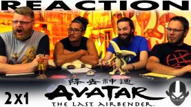 """Avatar: The Last Airbender 2×1 REACTION!! """"The Avatar State"""" – Blind"""