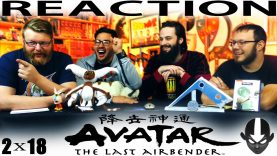 "Avatar: The Last Airbender 2×18 REACTION!! ""The Earth King"