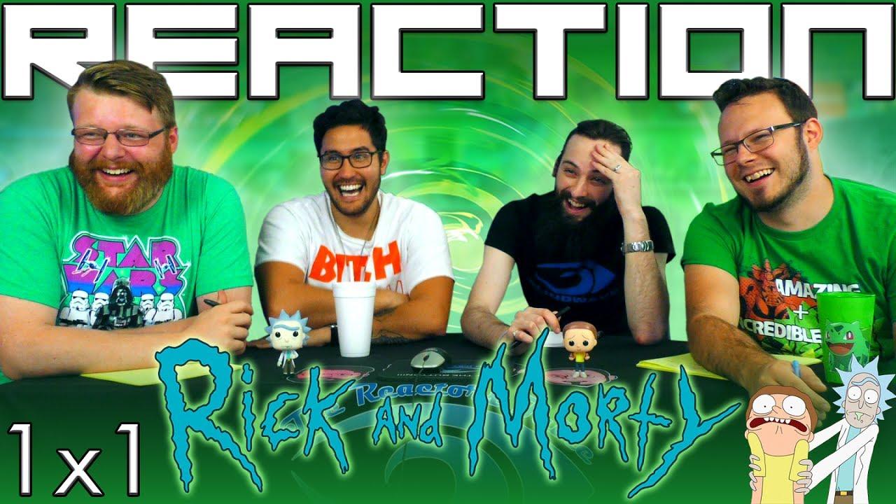 Rick And Morty X Reaction Pilot