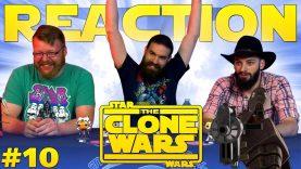 "Star Wars: The Clone Wars #10 REACTION!! ""Rookies"" – Blind Wave"