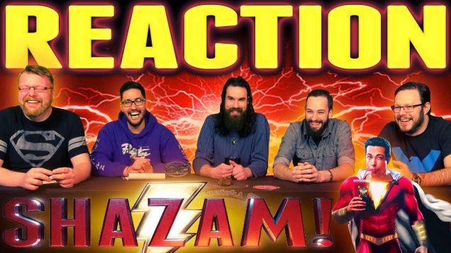 SHAZAM! Official Trailer 2 Reaction