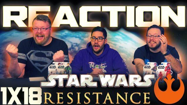 Star Wars Resistance 1×18 Reaction
