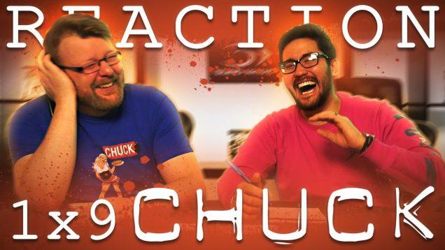 Chuck 1×9 Reaction EARLY ACCESS