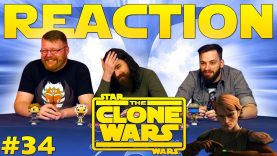 Star Wars: The Clone Wars #34 Reaction – Blind Wave