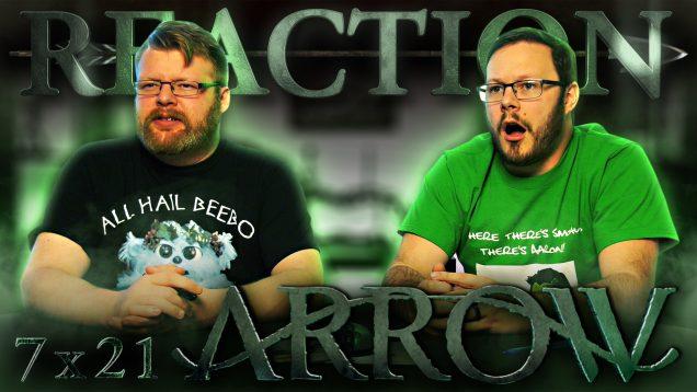 Arrow 7×21 Reaction Thumbnail