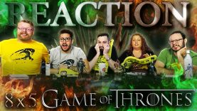 Game of Thrones 8×5 Reaction