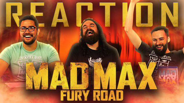 Mad Max Fury Road Reaction THUMBNAIL