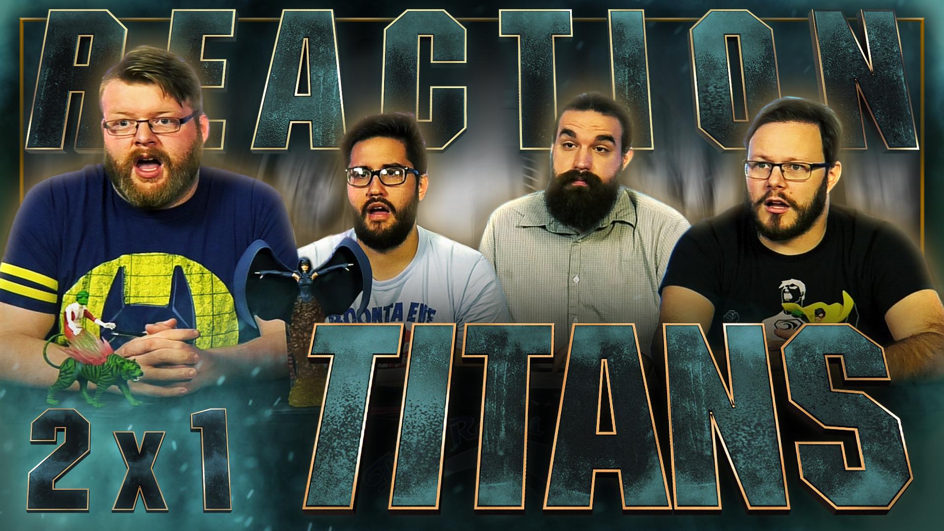 Titans 2×1 Reaction – Blind Wave