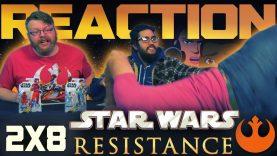 Star Wars Resistance 2×8 Reaction